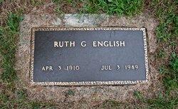 Ruth G <I>Granger</I> English