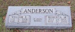 Martha Roberta <I>Long</I> Anderson