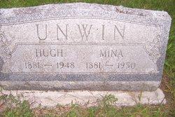 "Mina ""Minnie"" <I>Boone</I> Unwin"