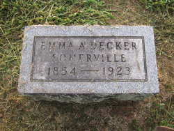 Emma Abigail <I>Decker</I> Somerville