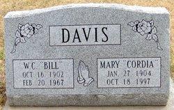 """Willie Clifford """"Bill"""" Davis"""
