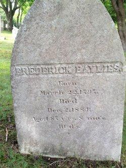 Frederick Baylies, Jr