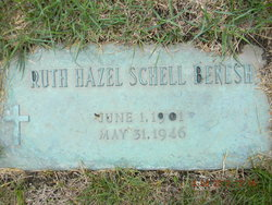 Ruth Hazel <I>Patschke</I> Benesh