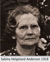 Sabina Amelia <I>Helgeland</I> Anderson