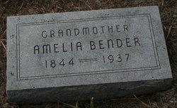 Amelia Bender