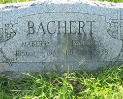 Isabella <I>Gerber</I> Bachert
