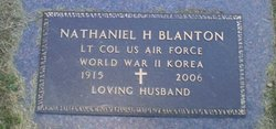 "LTC Nathaniel Hayne ""Cy"" Blanton"