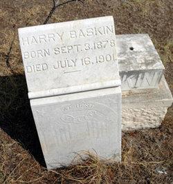 Harry James Baskin
