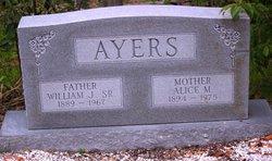 Alice M <I>Moon</I> Ayers