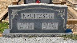 Christine <I>Kunz</I> Kauitzsch