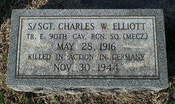 Sgt Charles Warren Elliott
