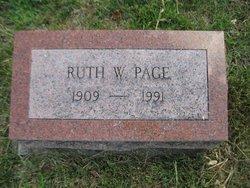 Vernita Ruth <I>Wikel</I> Page