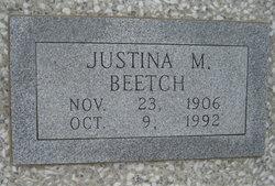 Justina M. <I>Schwarz</I> Beetch