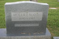 Mollie <I>Hurdt</I> Booth
