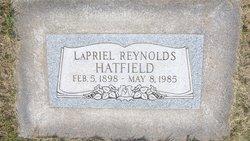 Lapriel <I>Reynolds</I> Hatfield