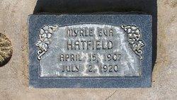 Myrle Eva Hatfield
