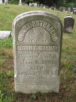 Mary <I>Rothrock</I> Burns
