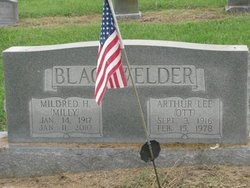 "Mildred Christine ""Milly"" <I>Hellen</I> Blackwelder"