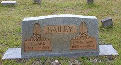 Lydia Ann <I>Holdin</I> Bailey