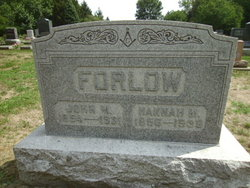 Hannah Marcella <I>James</I> Forlow