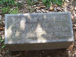 Carolina R <I>Lougee</I> Broughton