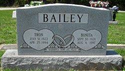 """Bonita Jean """"Bonnie"""" <I>Cook</I> Bailey"""