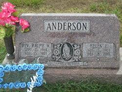 Helen Lorene <I>Rose</I> Anderson