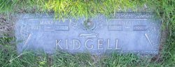 Mary Evelyn Kidgell
