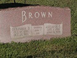 "Adelaide Elizabeth ""Addie"" <I>McKenzie</I> Brown"