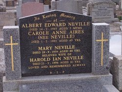 Carole Anne <I>Neville</I> Aires