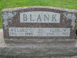 Elsie W Blank