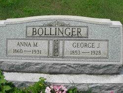 George J Bollinger