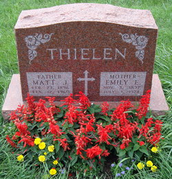 Emily Etta <I>O'Connor</I> Thielen