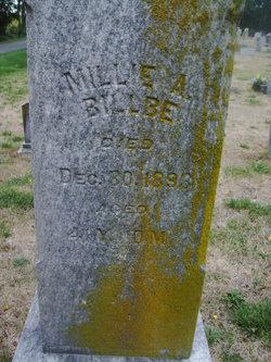 Millie A. <I>Braughton</I> Billbe