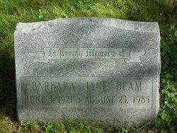 Barbara Jane <I>Sutton</I> Beam