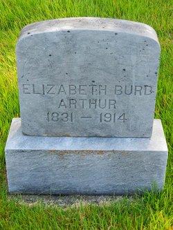 Elizabeth <I>Scarberry</I> Burd Arthur