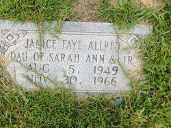 Janice Faye Allred