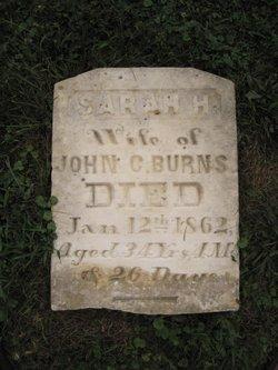 Sarah H <I>Van Ormer</I> Burns