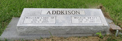 William Lake Addkison, Sr