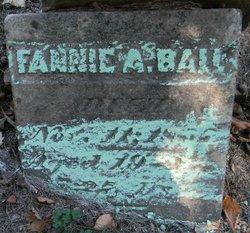 """Frances A """"Fannie"""" Ball"""