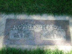 Annie <I>Fisher</I> Hennefer