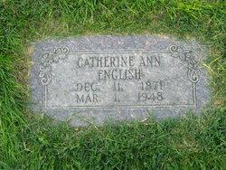 Catherine Ann <I>Blackner</I> English