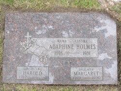 """Margaret Louise """"Peggy"""" <I>Holmes</I> Toney"""