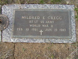 Mildred E. <I>Bennett</I> Gregg