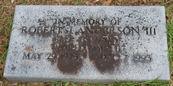 Robert J. Anderson, III