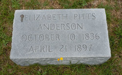 Elizabeth Rebecca <I>Pitts</I> Anderson