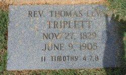 Rev. Thomas Lewis Triplett