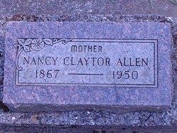 Nancy Elizabeth <I>Peters</I> Allen