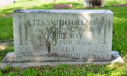 Mrs Etta Smith <I>Mallard</I> McKinnon