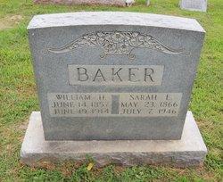 Sarah Elizabeth <I>Corbin</I> Baker